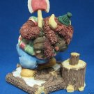 MOOSE CREEK CROSSING BISON CHOP TIL YOU DROP FIGURINE