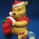 DISNEY WINNIE THE POOH W/ STOCKING CHRISTMAS ORNAMENT