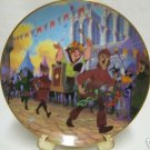DISNEY TOPSY TURVY PARADE HUNCHBACK NOTRE DAME PLATE NR