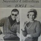 KNIT KNITTING PATTERN SWEATER COLLECTION 1964 VINTAGE