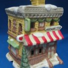 CHRISTMAS VILLAGE HARDWARE STORE LIGHTED BUILDING EXC