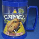 JOE CAMEL 75 BIRTHDAY THERMO SERV MUG CUP ADVERTISING