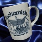 SNOHOMISH WASHINGTON TIMELESS CITY SOUVENIR MUG CUP WOW