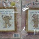 SWEET INSPIRATIONS TEDDY BEAR ANGEL CROSS STICH KITS 2