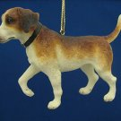 ENGLISH FOXHOUND PUPPY DOG CHRISTMAS ORNAMENT NEW CUTE