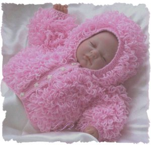 Knitting Patterns For Loopy Cardigan : FREE KNITTING PATTERN BABY LOOPY JACKET - VERY SIMPLE FREE ...