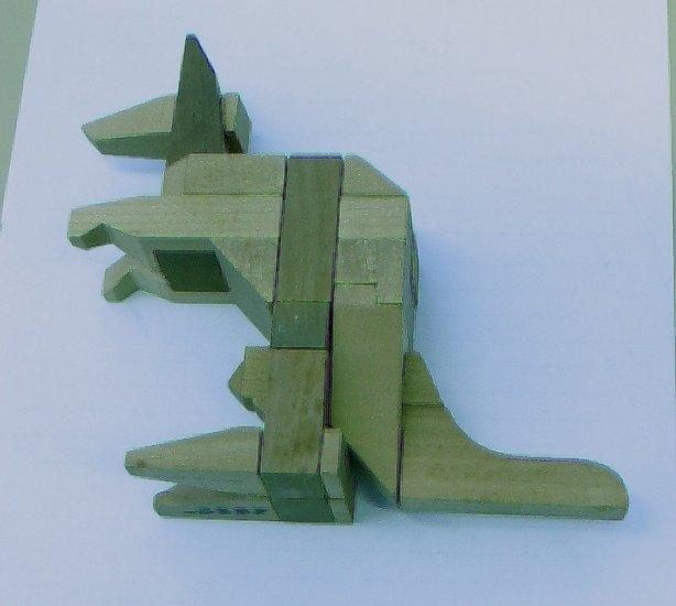 Wooden Kangaroo Puzzle - Excellent Brain Teaser