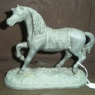 Circus Horse - Metal with Molded Blanket and Base.