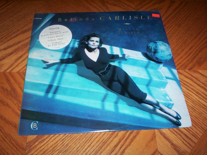 Belinda Carlisle - Heaven on Earth ( Sealed LP )