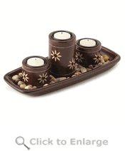 Zen Candleholder Tray