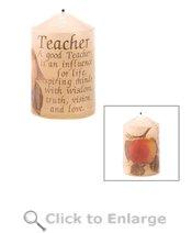 Decorative Teacher Candle