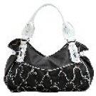 7-Pocket Braided and Studded Bag