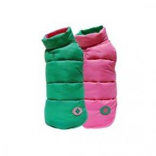 Argyle Ski Vest - Pink/Green