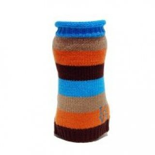 LOVE Sweater - Orange Stripe