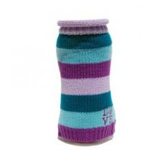 LOVE Sweater - Purple Stripe