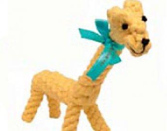 Giraffe Rope Toy