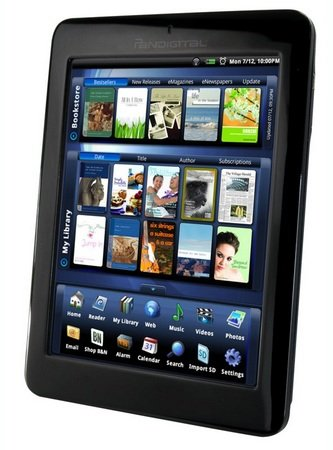 "Pandigital Novel 7"" Color Multimedia e-Book Reader"