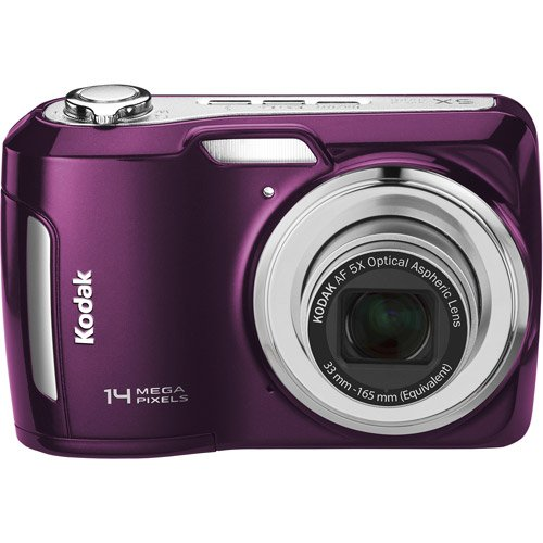 "Kodak Easyshare C195 14MP Digital Camera, 5X Optical Zoom, 3"" LCD + Memory Card Bundle"