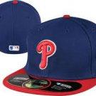 Philadelphia Phillies 59Fifty NEW ERA ALT Flat Bill Size 7 7/8