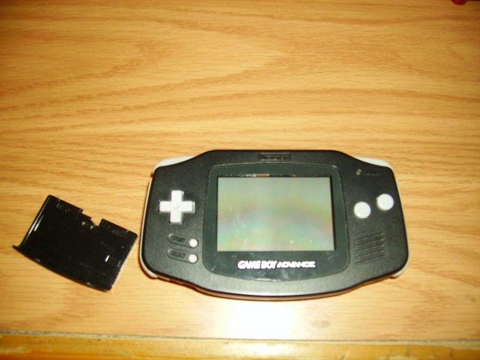 Gameboy Advance console Black
