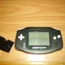 Gameboy Advance console Black