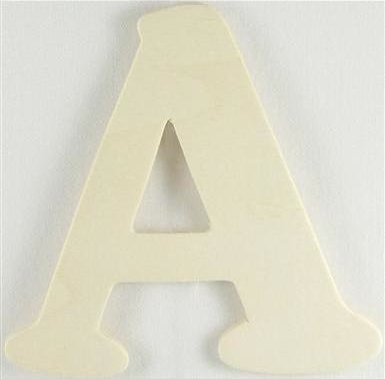 Wood Letter - A