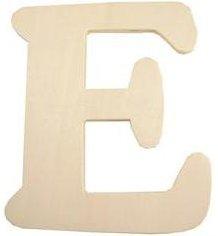 Wood Letter - E