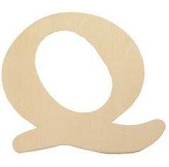 Wood Letter - Q