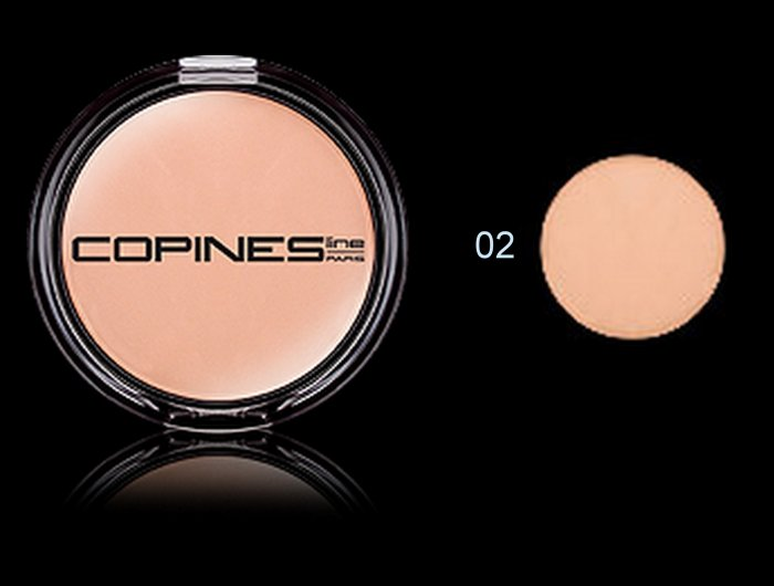 Copines Line Paris COMPACT POWDER VELVET - colour 02 -  natural beige
