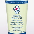 PURIFYING MASK - Cattier paris- organic cosmetic