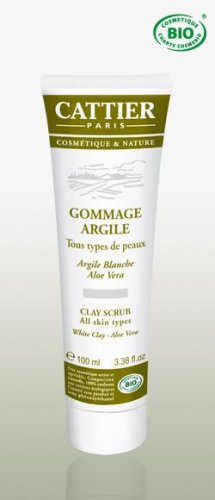 FACE SCRUB Cattier Paris - All skin types - organic cosmetic
