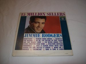 Jimmie Rodgers 15 Million Sellers