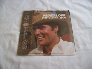 Elvis, Faded Love B/W Guitar Man