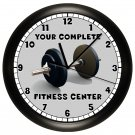 Fitness Wall Clock Personalized
