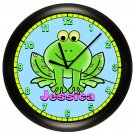 Personalized Tree Frog Wall Clock