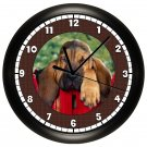 Bassett Hound Wall Clock Hound Dog Puppy Dog