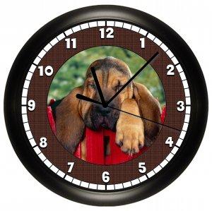 Bassett Hound Wall Clock Hound Dog Puppy Dog