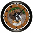 Boxer Wall Clock Dog Puppy Dog