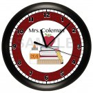 PERSONALIZED TEACHER WALL CLOCK