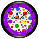 Decorative Polka Dots Wall Clock
