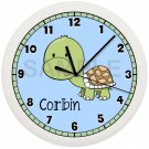 Personalized Turtle Wall Clock