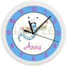 Dragonfly Personalized Nursery Wall Clock
