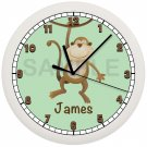 Monkey Nursery Clock
