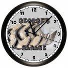 Personalized Workshop Garage Wall Clock