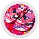 Personalized Flip Flops Wall Clock