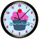 Personalized Cupcake Wall Clock