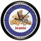 Patriotic Teddy Bears Wall Clock