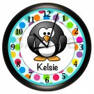 Penguin Children's Wall Clock