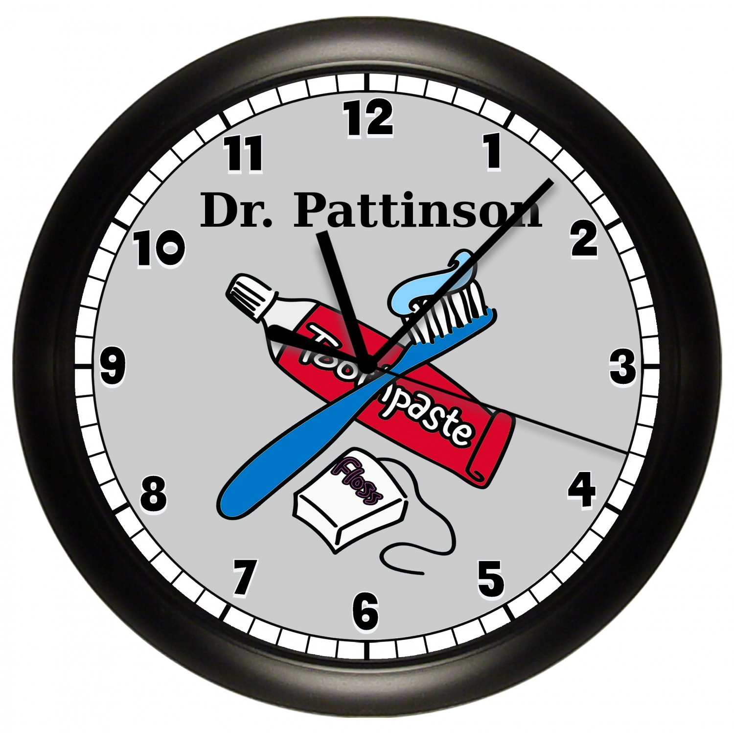 Dentist Office Personalized Wall Clock