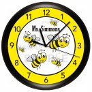 Bumble Bees Wall Clock